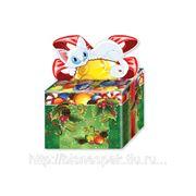 """Новогодняя подарочная упаковка """"Бантик и котик"""", 800 г фото"""