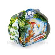 Новогодняя коробка «Зимний лес», 1500 г фото