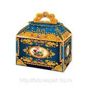 "Коробка для новогодних подарков ""Сундучок синий"", 1200 г фото"