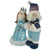 "Новогодний сувенир ""Дед Мороз и Снегурочка"" 38см 175791 фото"