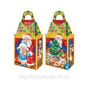 "Новогодняя подарочная упаковка ""ЗАМОК Дед Мороз"", 1000 г фото"