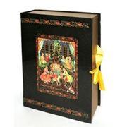 Щелкунчик, коробка переплетная книга-шкатулка, 25х35 см, РАСПРОДАЖА!!! фото