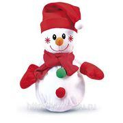 Сладкий новогодний подарок Снеговик Морковкин, 700 г фото