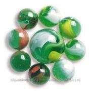 V 16мм/25мм Марблс ТИП-1 Зелёные Волны 20шт/1шт фото