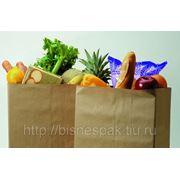 Крафт пакеты для супермаркетов фото