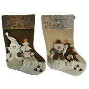 """Новогодний сувенир """"Носок для подарков"""" 51см 275710 фото"""
