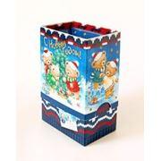Коробка новогодняя С Новым Плюшевым!, Коробка новогодняя 120х140х80, 500 гр, РАСПРОДАЖА!!! фото