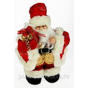 """Игрушка новогодняя """"Санта Клаус"""" цвет красный 30см 74892 фото"""