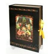 Коробка переплетная книга-шкатулка ЩЕЛКУНЧИК 25х35 см фото