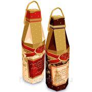 Сладкий новогодний подарок Шампанское шоколадное, 500 г фото