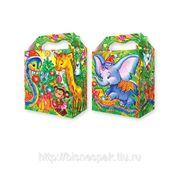 """Упаковка для детских подарков """"Змейка в Джунглях"""" с блестками, 1000 г фото"""