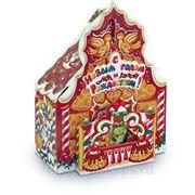 Сладкий новогодний подарок Пряничный домик, 1200 г фото