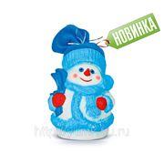 Сладкий новогодний подарок Снеговик Снежинкин, 800 г фото