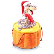 Сладкий новогодний подарок Змейка на пне, 1500 г фото