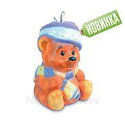 Сладкий новогодний подарок Мишка новогодний, 800 г фото