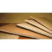 """Картон для плоских слоев """"Крафтлайнер"""" пл.135;140;150 фото"""
