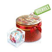 """Сладкий новогодний подарок Коробка подарочная """"Сладкое чаепитие"""", 1050 г фото"""