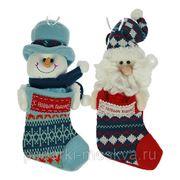"""Новогодний сувенир """"Носок для подарков"""" 23см 175784 фото"""