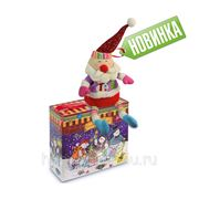 Сладкий новогодний подарок Интерактивный дед мороз, 900 г фото