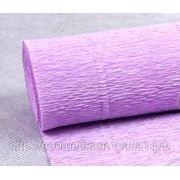 Креп-бумага (592) светло-сиреневая, 180 гр. фото