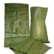 Мешок полипропиленовый (зеленый) фото
