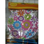Тарелочки бумажные, 6 штук в упаковке, 23 см. фото