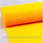 Креп-бумага гофрированная светло-оранжевый (576) фото