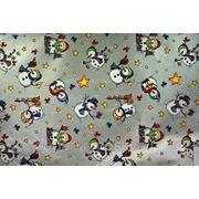 208183 Бумага упаковочная Новогодняя 100*70см 00325 фото