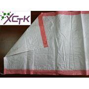 Мешки полипропиленовые белые с розовой полосой 55*105