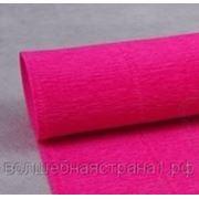 Креп-бумага светло-малиновая (970) фото