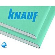 Гипсокартон KNAUF влагостойкий 2500х1200х9,5 мм фото