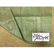 Мешки полипропиленовые зеленые 55*105