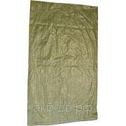 Мешок полипропиленовый 550*950 зеленый фото