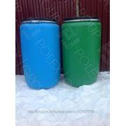 Пластиковая бочка 220 литров фото