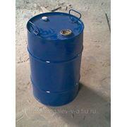 Бочка металлическая, закрытая, 50 литров. фото