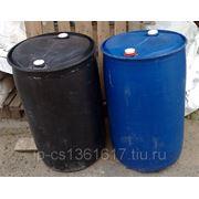 Бочки пластиковые б/у 227 л. с двумя горловинами фото
