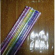 Пленка прозрачная с рисунком в асс 70см*10м фото