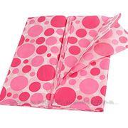 Бумага тишью Пузыри ярко-розовые