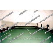 Надувной теннисный корт фото
