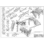 Металлоконструкции быстровозводимых зданий и промышленных сооружений от1300руб.кв.м фото