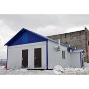 Модульные здания, операторной топливозаправочной станции 6х6м. монтаж, производство