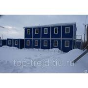 Блочно-модульные здания фото