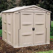 Домик садовый (ШхГхВ) 240см x 240см х 220см фото