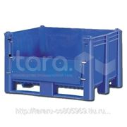 Пластиковый контейнер (Box Pallet) арт. 11-100-DA с верхней дверцей фото