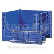 Пластиковый контейнер (Box Pallet) арт. 11-112-DA (со съемной дверцей) фото