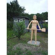 Скульптура Друг для дачи фото