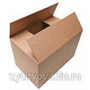 Коробка из гофрокартона четырехклапанная 220х300х245 фото
