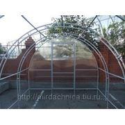 Теплица дачная комфорт 3М (3х6м) ЭЛИТ (кремлевская люкс) с сотовым поликарбонатом фото