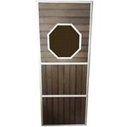 Дверь с притвором ДО - 8, Термо, покрытая маслом, коробка липа, на петлях фото