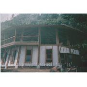 Пристройки к дому из бамбука фото